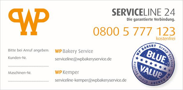 WP SERVICELINE 24 | WP Bakery Technologies